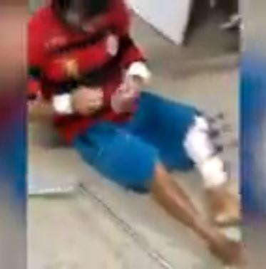 DESCASO - DENÚNCIA: Trauminha de João Pessoa não tem leitos suficientes e pacientes são obrigados a ficar no chão - VEJA VÍDEO