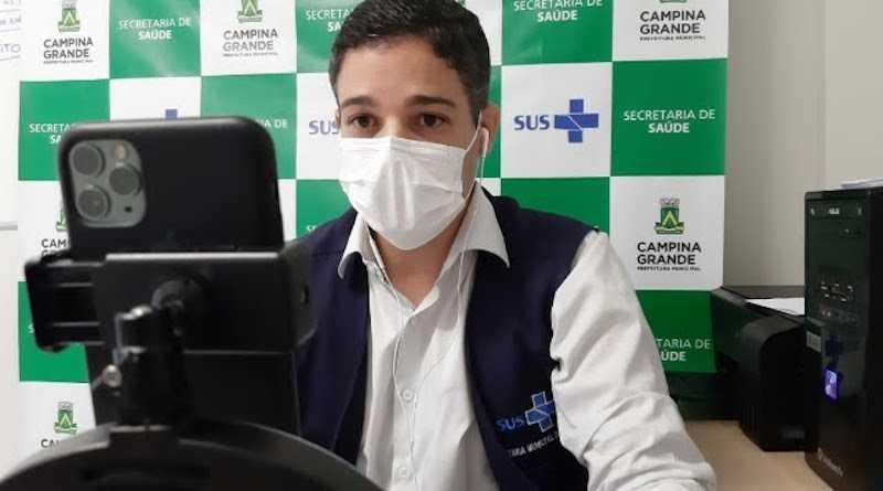 Filipe Reul - Secretário de Saúde de Campina Grande rebate Geraldo Medeiros: 'Não admito que diga isso sobre o nosso trabalho'