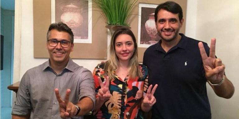 Leonardo Myriam André   2020 - NO SERTÃO: Myriam Gadelha será candidata a vice-prefeita pela oposição em Sousa