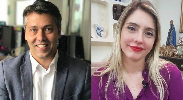 Leonardo e Myriam   Eleições 2020 e1600104394615 - NO SERTÃO: Myriam Gadelha será candidata a vice-prefeita pela oposição em Sousa