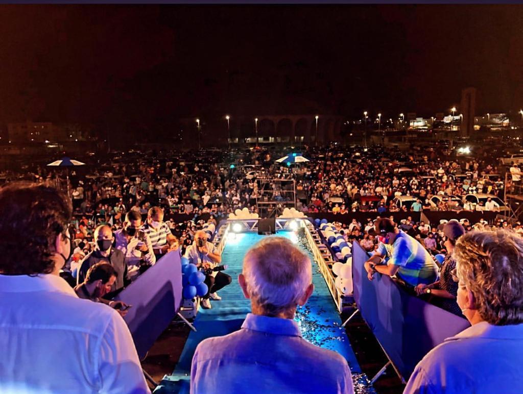 WhatsApp Image 2020 09 16 at 21.47.50 - Convenção Histórica: Cícero Lucena e Leo Bezerra têm suas candidaturas homologadas em grande evento que contou com nove partidos