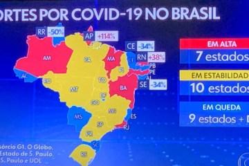 COVID-19: número de mortes na Paraíba segue em queda no mês de setembro; confira