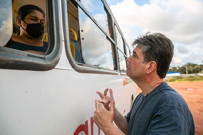 """WhatsApp Image 2020 09 25 at 13.06.15 - """"Vamos fazer uma verdadeira intervenção no sistema de ônibus de João Pessoa"""", enfatiza Ruy Carneiro"""