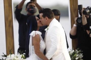 WhatsApp Image 2020 09 30 at 17.43.37 - Gretchen disse o 18° sim, casamento aconteceu sem a presença dos filhos
