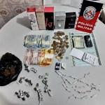 apreensão - Operação Nômade: PM apreende menor com drogas, dinheiro e perfumes
