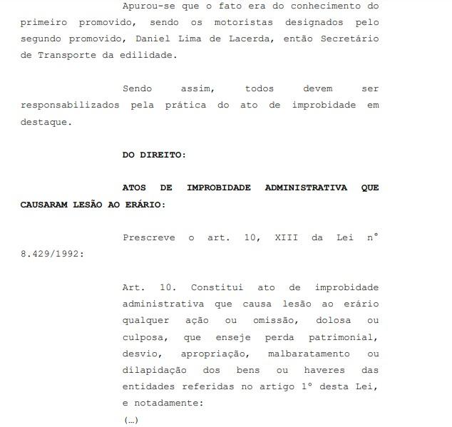 apuração - MP pede condenação do prefeito de São José dos Ramos por improbidade administrativa