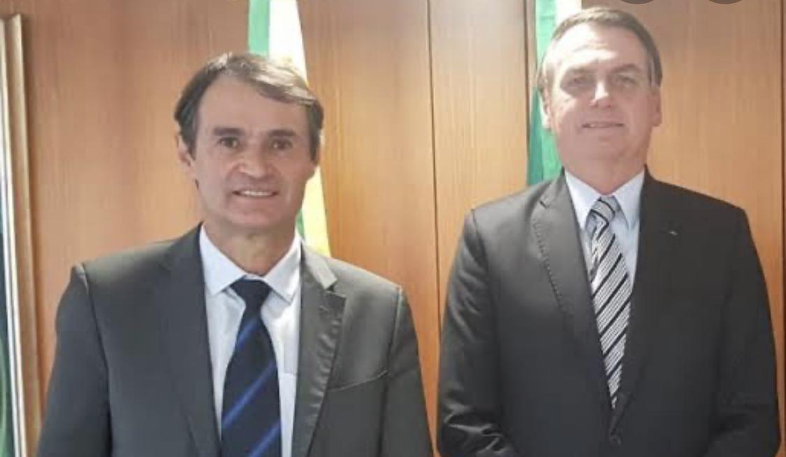 bolsonaro romero - Romero Rodrigues recebe Bolsonaro nesta quinta-feira (01) em Campina Grande