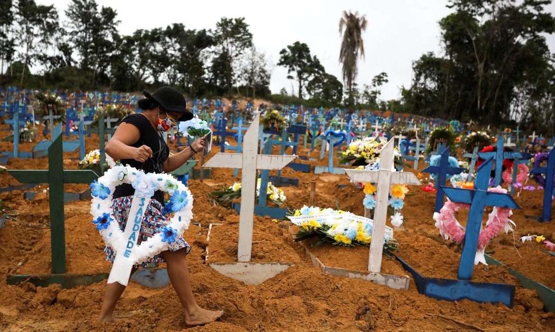coronavirus brasil - Covid-19: Total de mortes no Brasil chega a 125.502, com 888 novos óbitos