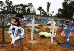 Covid-19: Total de mortes no Brasil chega a 125.502, com 888 novos óbitos