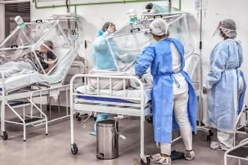 coronavirus hospital de campanha manaus 1 - João Pessoa e mais nove capitais brasileiras exibem sinais de aumento nas hospitalizações por suspeita de Covid-19