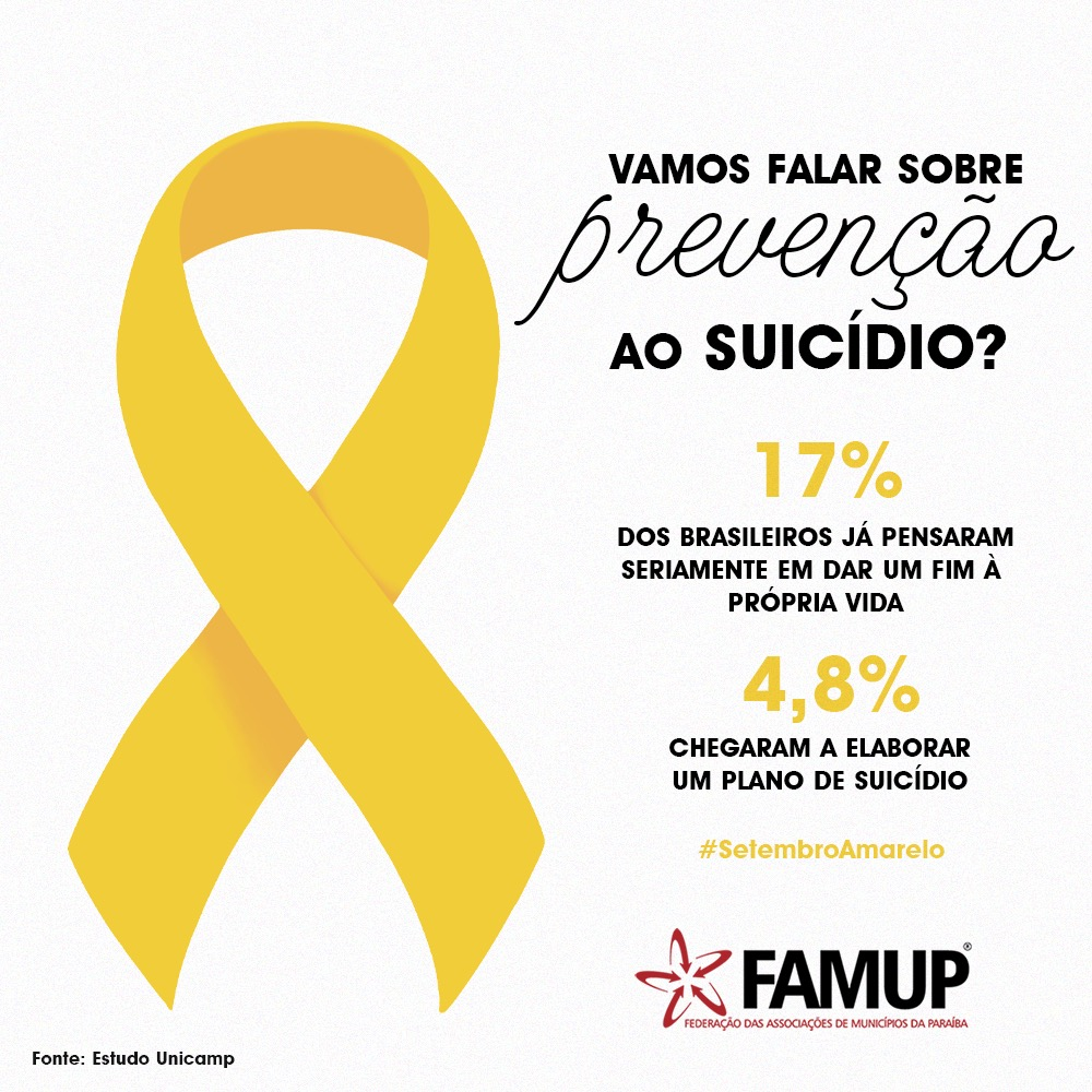 e3dacf40 a51b 4afb 97e1 c996aaf2081b - Famup realiza campanha nas redes sociais para alertar paraibanos sobre depressão e prevenção ao suicídio