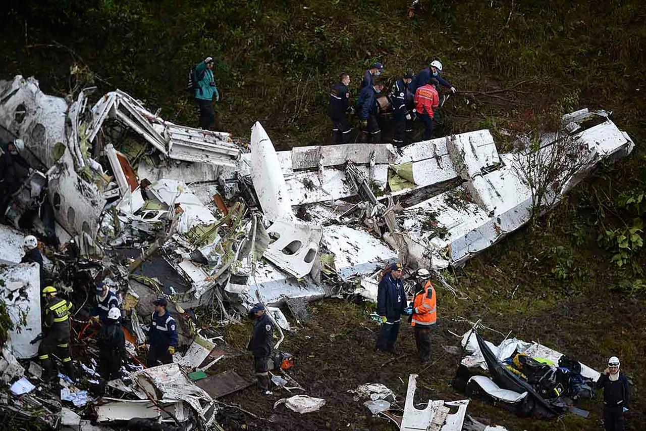 esporte acidente chapecoense 20161129 001 1 - Justiça americana estipula indenização de 4,8 bi para vítimas do voo da Chapeconse