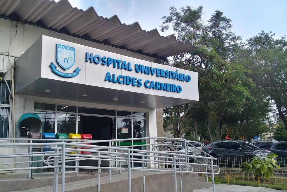 fachada huac 7  - Novo fluxo de internações hospitalares para pacientes de outros Municípios é estabelecido pela Secretaria de Saúde de Campina Grande