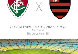 FLA x FLU: rivais cariocas se enfrentam nesta quarta-feira (09), pelo Campeonato Brasileiro