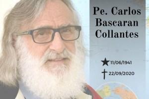 foto do pe missionario vitima de covid 19 300x200 - Padre Carlos Bascaran, morre vítima de covid-19 na Paraíba