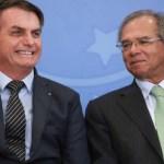 """jair bolsonaro paulo guedes 20022020 marcos correa pr2 660x372 1 - """"A vacinação em massa é decisiva para a economia"""", diz Paulo Guedes"""