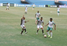 Treze volta a sofrer gol no fim e cede empate para o Manaus; jogo termina em confusão com a polícia