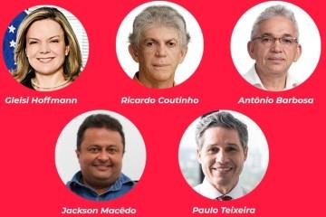 NOVO CAPÍTULO: Presidente estadual do PT, Jackson Macedo participará de live em apoio a Ricardo Coutinho