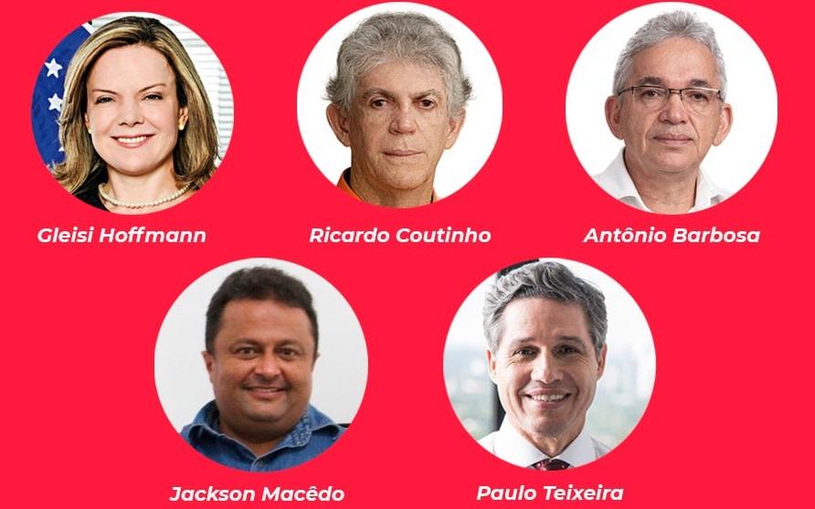 live PT - NOVO CAPÍTULO: Presidente estadual do PT, Jackson Macedo participará de live em apoio a Ricardo Coutinho
