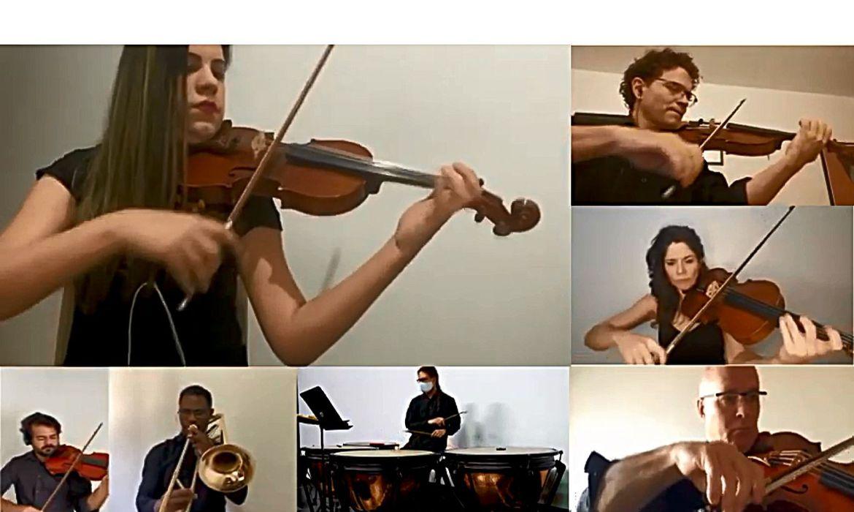orquestra sinfonica do teatro nacional claudio santoro 06092000273 0 - Sinfônica de Brasília celebra aniversário do Hino Nacional com vídeo; assista