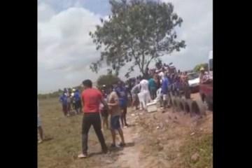 pedras de fogo 750x375 1 - VÍDEO: em Pedras de Fogo, grupos dos candidatos a prefeito Leonardo Barros e Manoel Júnior se esbarram e encontro quase termina em confronto