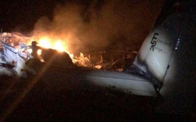 piloto morreu - Avião com 7,2 kg de cocaína cai em canavial e piloto morre carbonizado