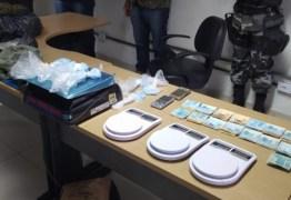 Polícia apreende grande quantidade de maconha e droga sintética em bairro nobre de João Pessoa