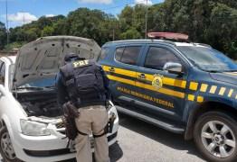 PRF recupera na Paraíba veículo roubado há dois meses no Rio Grande do Norte