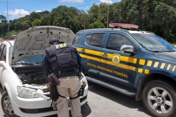 prf veiculo roubado - PRF recupera na Paraíba veículo roubado há dois meses no Rio Grande do Norte