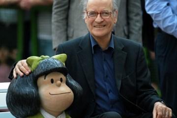 quino - Quino, cartunista argentino criador de Mafalda, morre aos 88 anos
