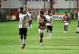 CAMPEONATO BRASILEIRO: Treze empata sem gols com o Vila Nova-GO