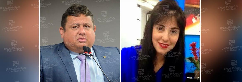 wallber leila - CONFIRMADO: Wallber Virgolino anuncia Leila Fonseca como candidata a vice em convenção