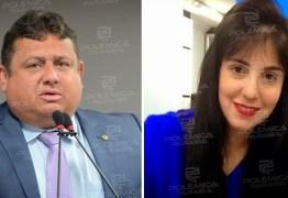 CONFIRMADO: Wallber Virgolino anuncia Leila Fonseca como candidata a vice em convenção