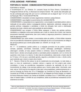 whatsapp image 2020 09 25 at 0918062 264x300 - IGNORANDO A PANDEMIA: Juiz permite comícios, passeatas e outros eventos de rua em Campina Grande