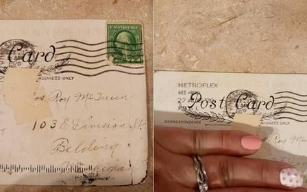 xblog postcard.jpg.pagespeed.ic .BWNW ISfKv - Cartão-postal chega com 100 anos de atraso
