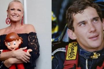 xuxa e senna - Xuxa revela que viu espírito de Senna no momento de sua morte, em 1994