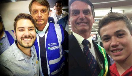111b - QUINTA DE FOGO GALDINIANA: Bolsonaro dará apoio para dois jovens candidatos a vereador na PB