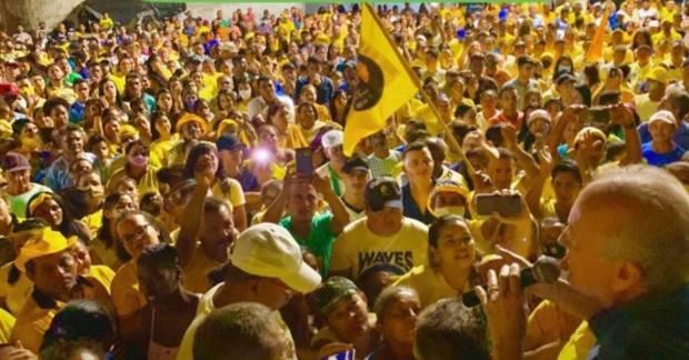 123102518 782463342604051 4658827223372412624 n - Renato Mendes se emociona ao 'passar o bastão' para Branco Mendes disputar prefeitura de Alhandra