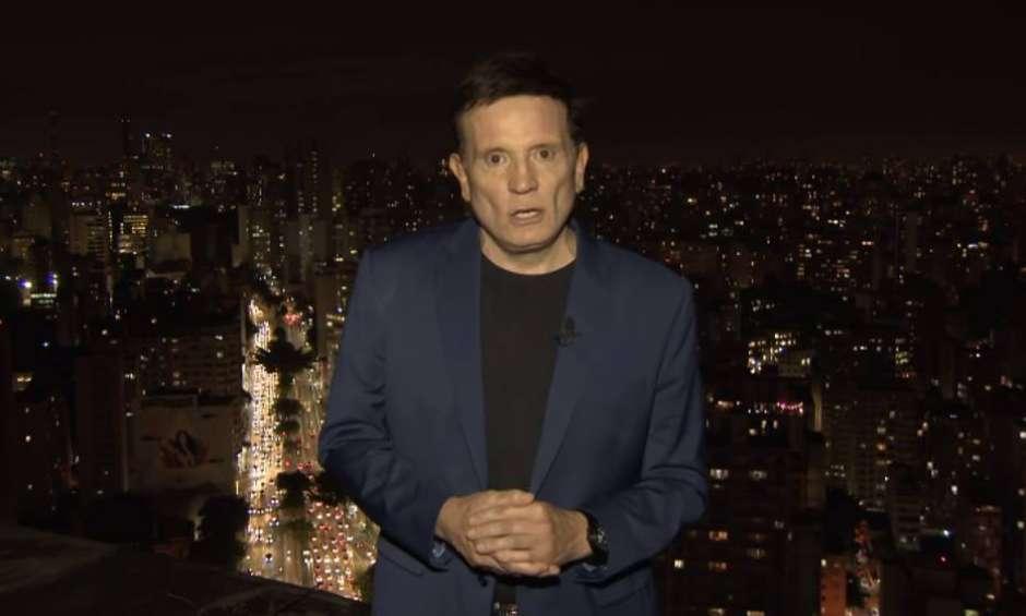 1602611299898 - SBT anuncia saída do jornalista Roberto Cabrini após 11 anos