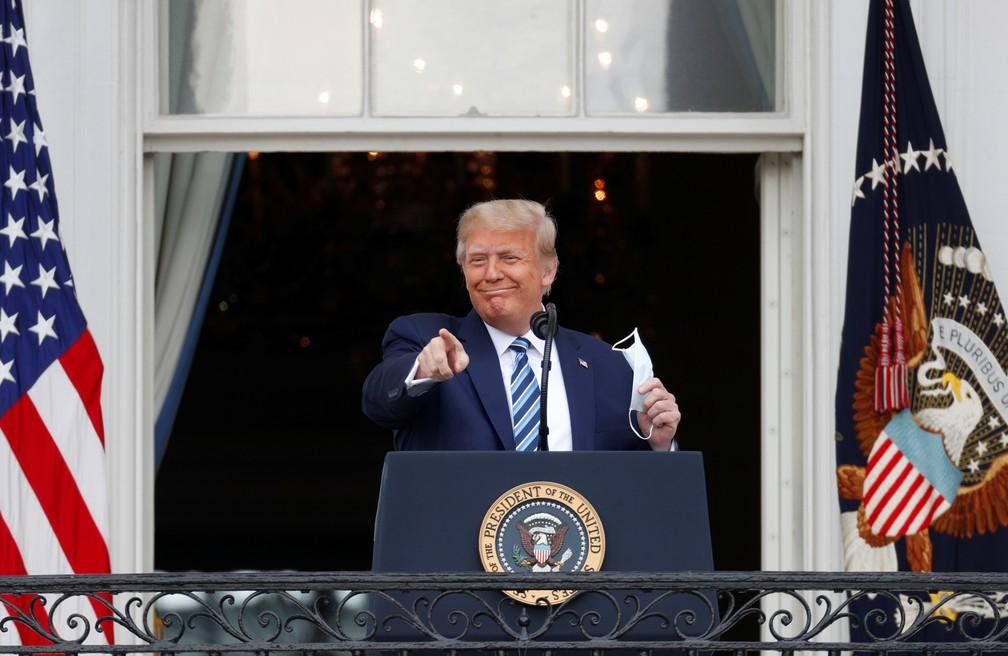 2020 10 10t180126z 890262586 rc2ufj9gea7v rtrmadp 3 usa election trump - Trump retoma campanha pela primeira vez após ser infectado pela Covid-19