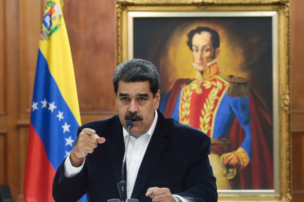 4693 B5F00E1A9E672B1B 1 1024x682 - Maduro diz esperar que Covid-19 torne Trump 'mais humano' e deseja recuperação