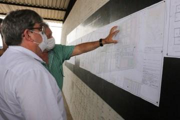 João Azevêdo visita obras e apresenta investimentos que somam mais de R$ 189 milhões em Patos
