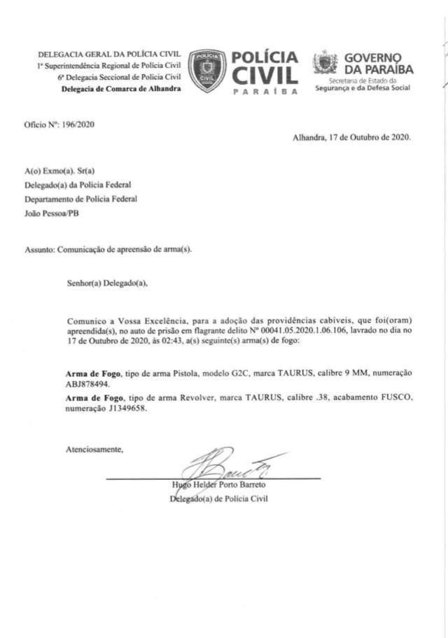 605b2ade f4f4 4661 bf19 d854713615f4 - PEDRAS DE FOGO: candidatos a vereadores e militares de Manoel Júnior são presos por porte ilegal de arma, e intimidação de eleitores; confira