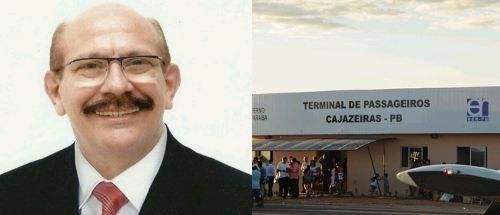 Capturar 12 - Médico convoca população e políticos em prol da ativação do Aeroporto de Cajazeiras