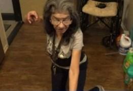 'LADY NINJA': Idosa espanta invasor de sua casa com golpe de jiu-jitsu