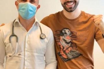 Capturar7 3 - Após passar por cirurgia, Juliano Laham celebra cura do câncer e faz agradecimento: ''Muito feliz''