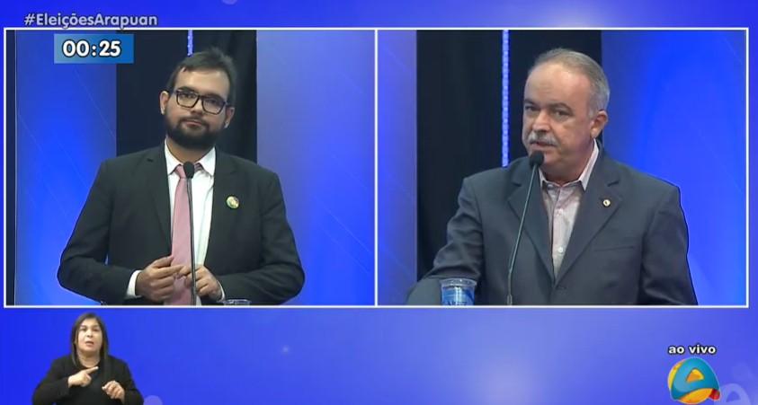 Capturarppp - 'Eu sou o único candidato aqui claramente antibolsonarista', diz Olímpio Rocha ao questionar sobre assinatura do Fórum Pró-Campina