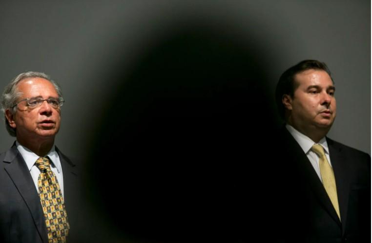 Capturartt 2 - Políticos articulam reaproximação de Guedes e Maia após troca de farpas