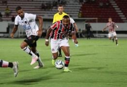 Com lembrança recente ruim, Botafogo-PB encara Santa Cruz no Arruda