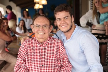 Ivandro e Bruno Cunha LIma - Termina cirurgia do ex-senador Ivandro Cunha Lima em Campina Grande